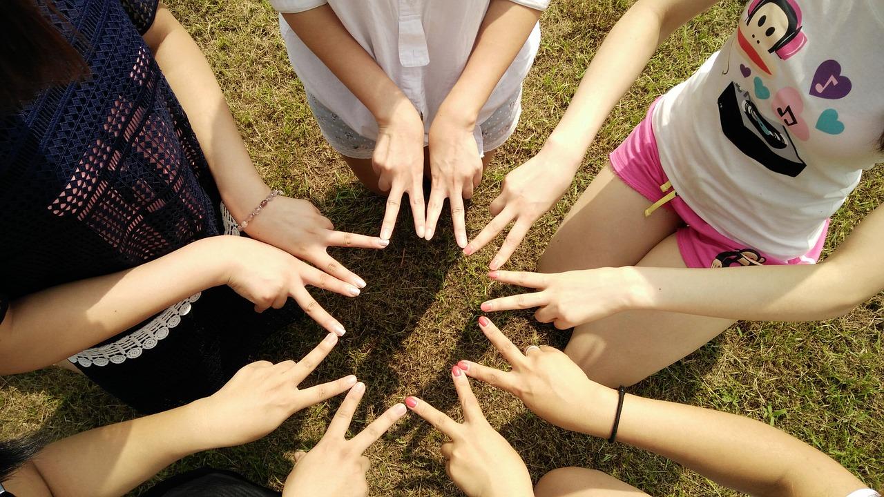 team, friends, teamwork